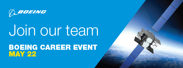 Boeing  Join our team  Boeing Career Event May 22